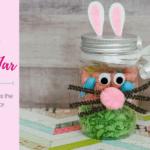 Easter Bunny Jar Easy DIY