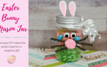 Easter Bunny Jar Easy DIY