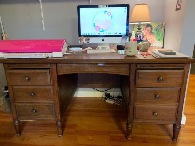 Vintage Desk Transformation