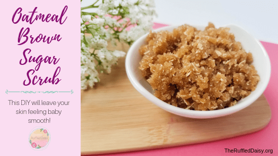 Oatmeal and Brown Sugar Scrub