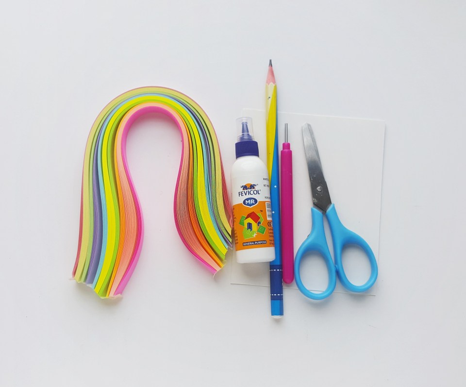 Quilled Easter Egg Supplies