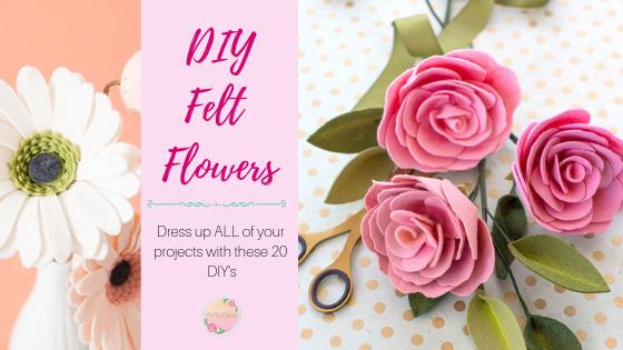 DIY Felt Flowers