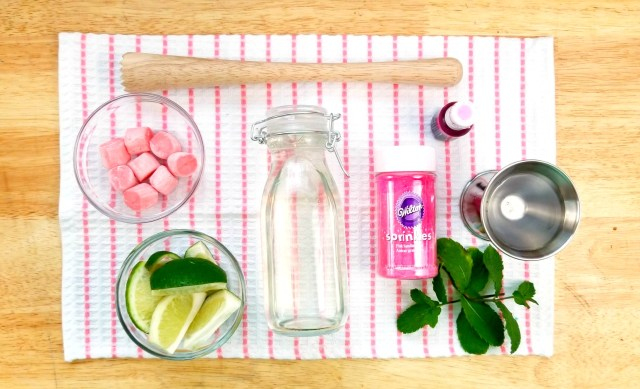 Bubblegum Mint Mojito ingredients