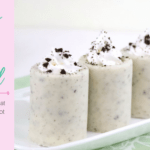 Cookies and Cream Cocktail with an Edible Shot Glass Recipe