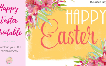 FREE Easter Printable Download NOW