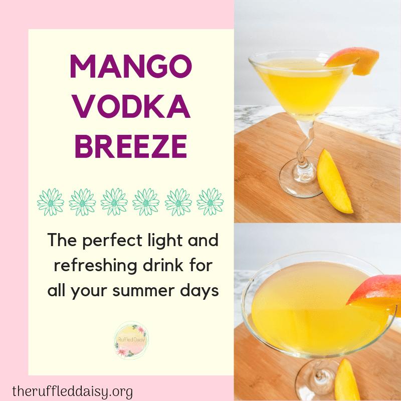 Mango Vodka Breeze