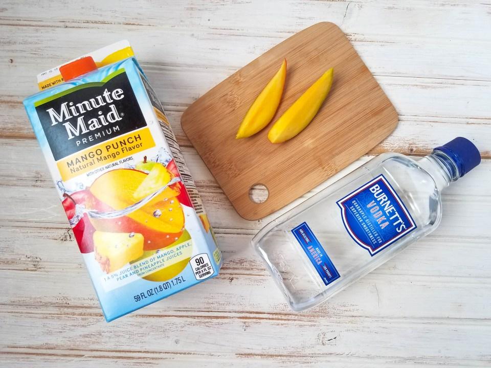 Mango Vodka Breeze Ingredients