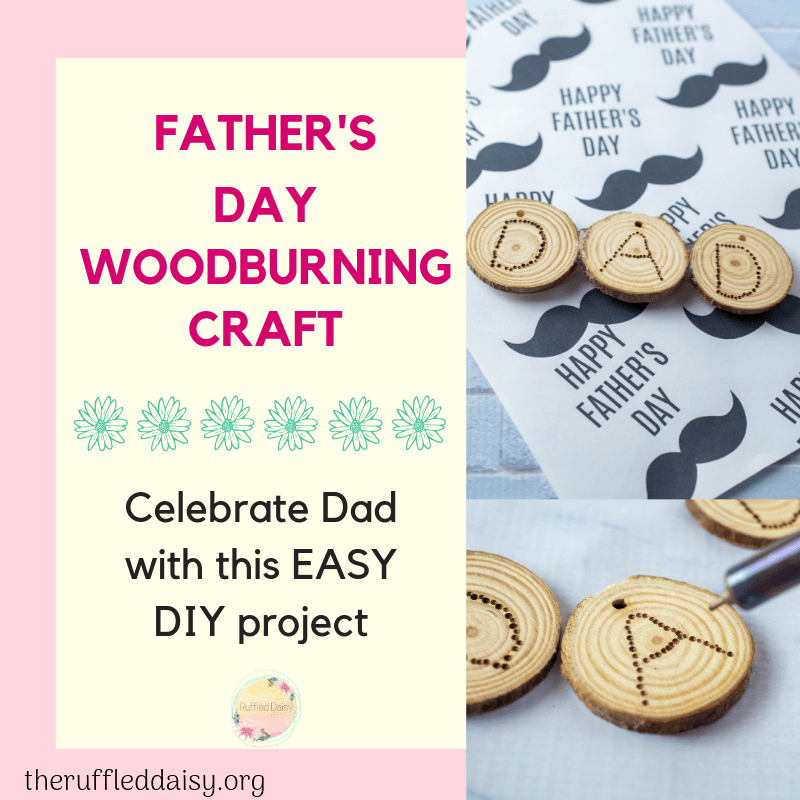 Father's Day Wood Burning DIY