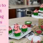 5 Steps to Great Tasting Cakes – Watermelon Cupcakes