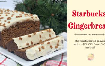 Starbucks Gingerbread – Copycat Recipe