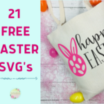 21 FREE SVG's for Easter