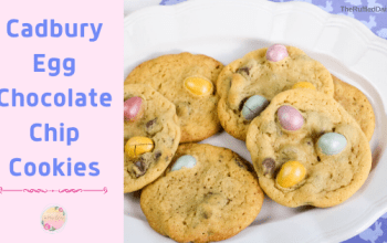 Cadbury Egg Chocolate Chip Cookies