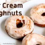 Delicious Sour Cream Doughnuts