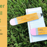 Teacher Pencil Craft with FREE Pattern Download