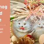 Hedgehog Wood Slices Fall Craft