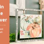 Napkin Frame DIY