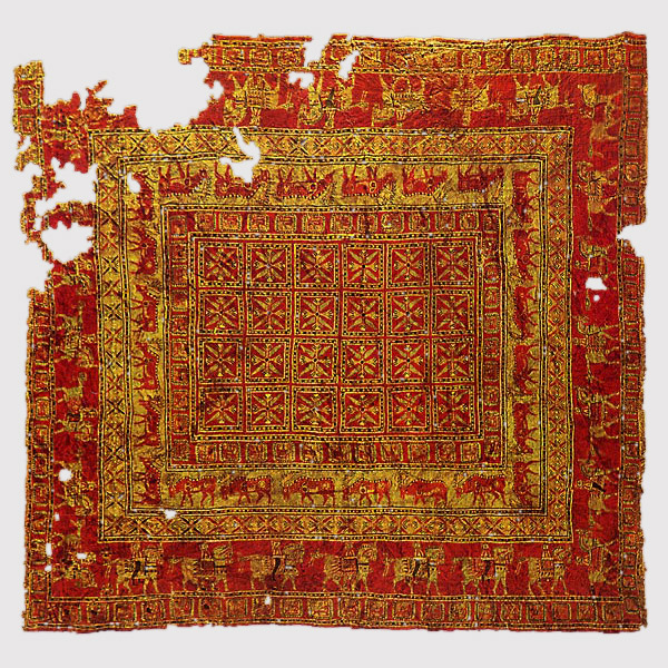 History of Persian rugs - Pazyryk_carpet_3