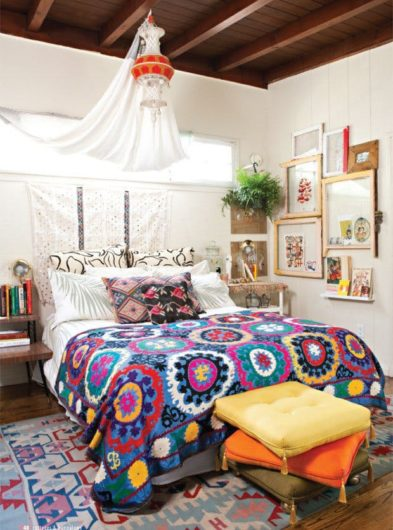 Bohemian Bedroom Apartment Therapy