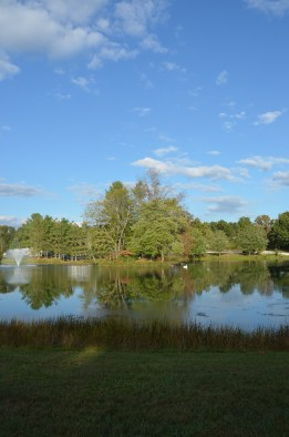 Spring Lake RV Campground, Crossville, Tennessee.  Picturesque and quite respite from a frenzied world.