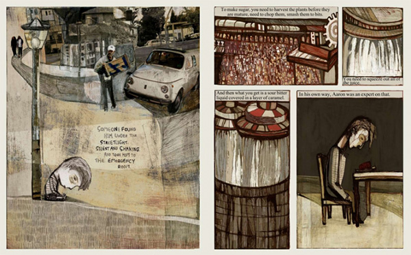 Pages from Andromeda Sleeps by Hadar Reuven and Shachar Galek