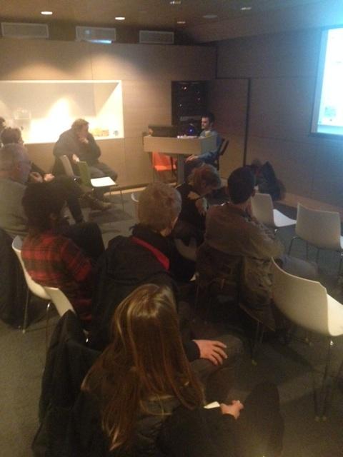 symposoium talk photo