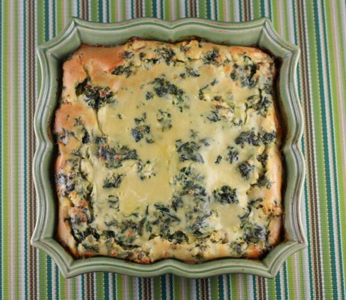 Greek Herbed Spinach Pie