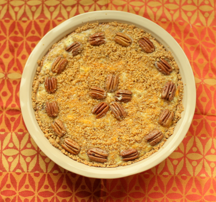 Chicken, Cheddar Pecan Pie