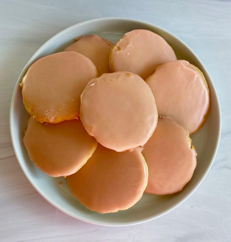 Aperol Spritz Sugar Cookies