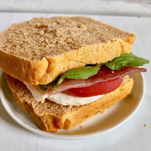 Fresh Tomato Basil Bread