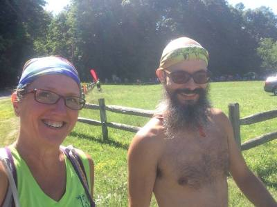 Mile 50: I've got a pacer! Lookout!