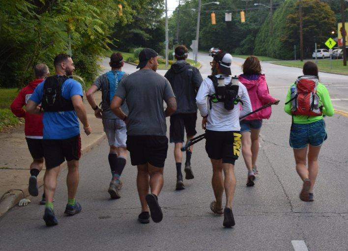 The final stretch! Burning River 100 Ultramarathon 2018