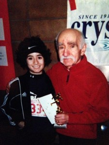 Victoria Negri and Dad
