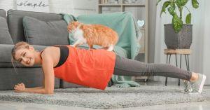 Woman Planking