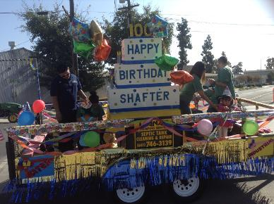 Shafter celebrates 100 years with birthday bash