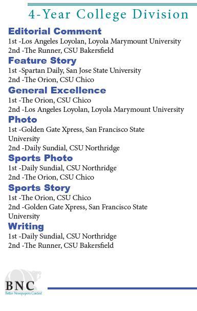 CNPA awards 2013
