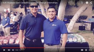 CSUB Students Gain Career Experiences Through Internships