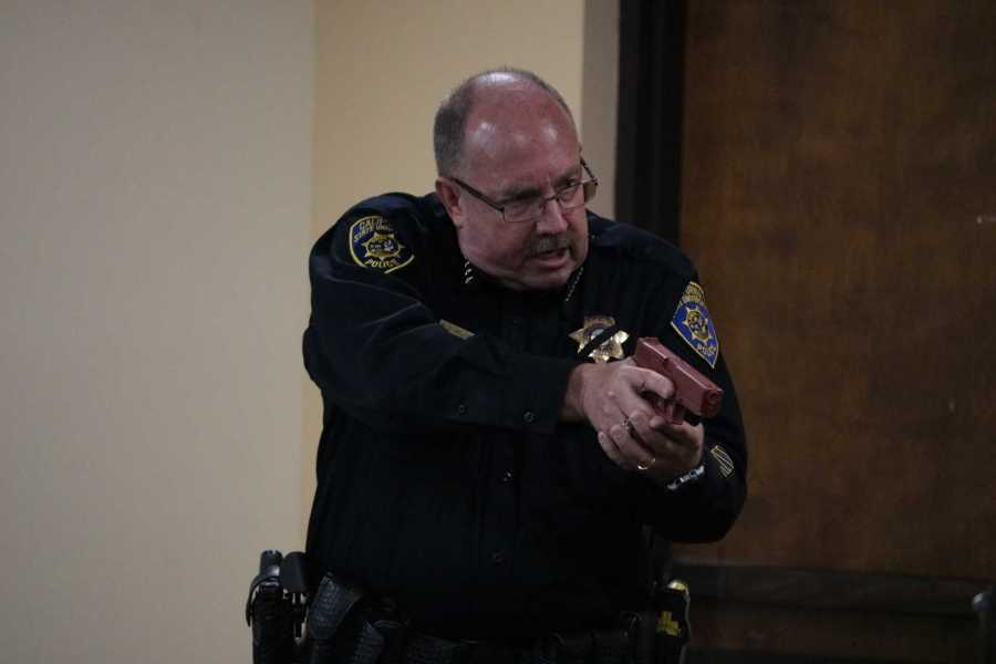 Shooter training informs students