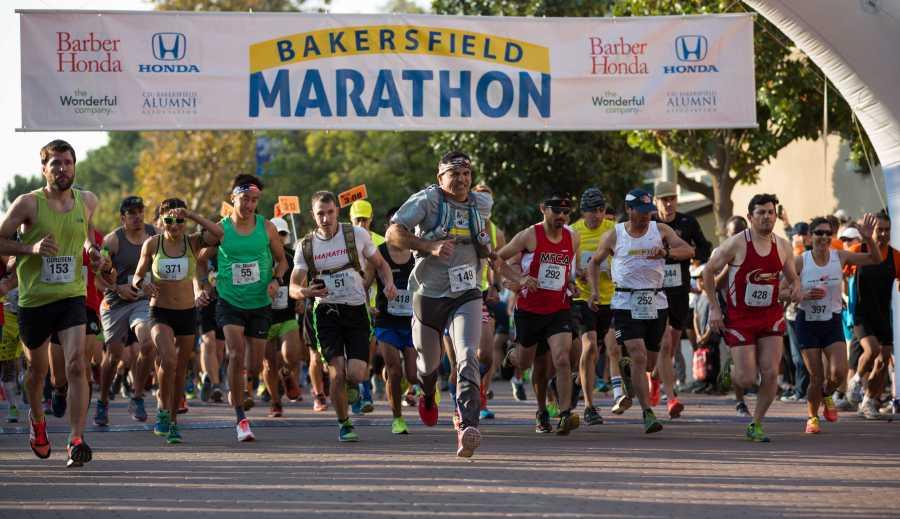 Bakersfield Marathon draws over 2,000 runners
