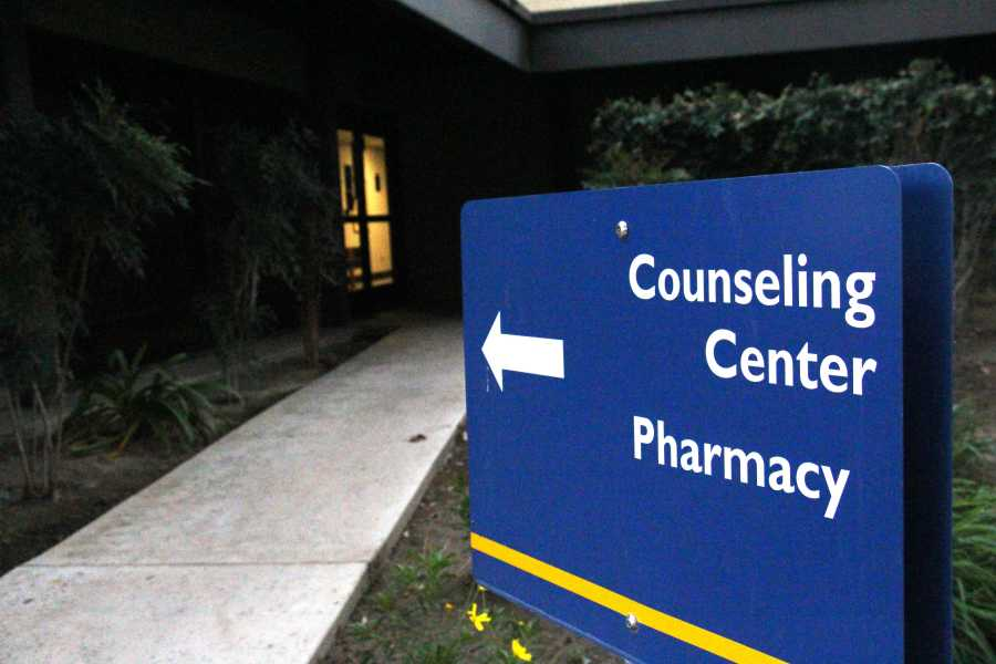 The Counseling Center is located inside the Student Health Center building on the north side of parking lot E. Photo By Julie Mana-Ay/The Runner