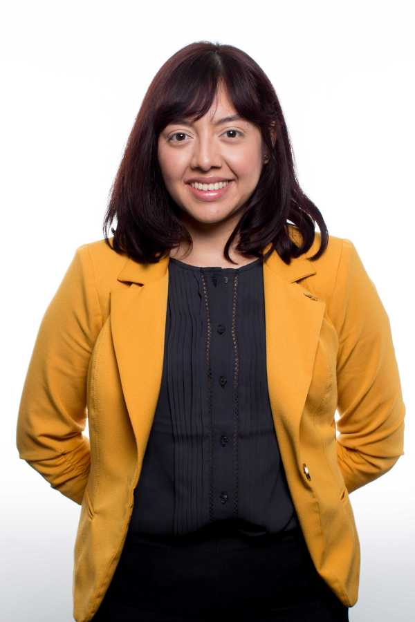 President candidate Mariela Gomez. Photo by Christopher Mateo
