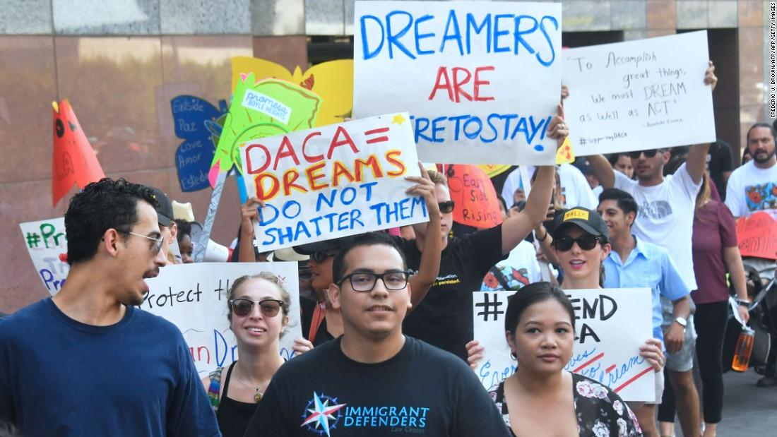 Sessions Announces Rollback of 'Dreamers' Program