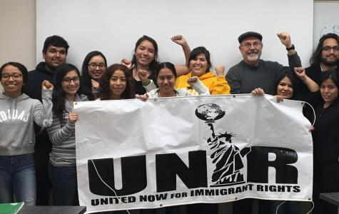 The United Now for Immigrant Rights club was renewed this last semester. Next semester the club will meet on Thursdays at 4 p.m. in the DDH. Photo courtesy of Ana Chavez