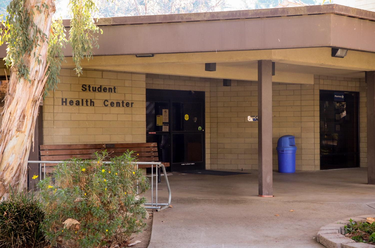 The entrance of Student Health Services at CSUB, Nov.18, 2019.