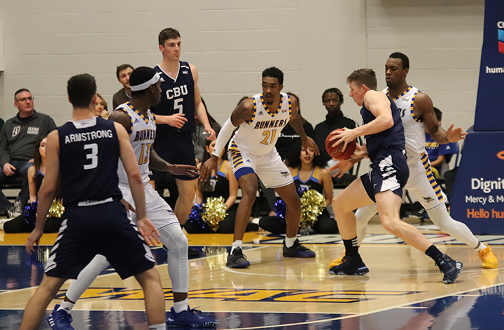 CSUB men's basketball narrowly loses to Cal Baptist University