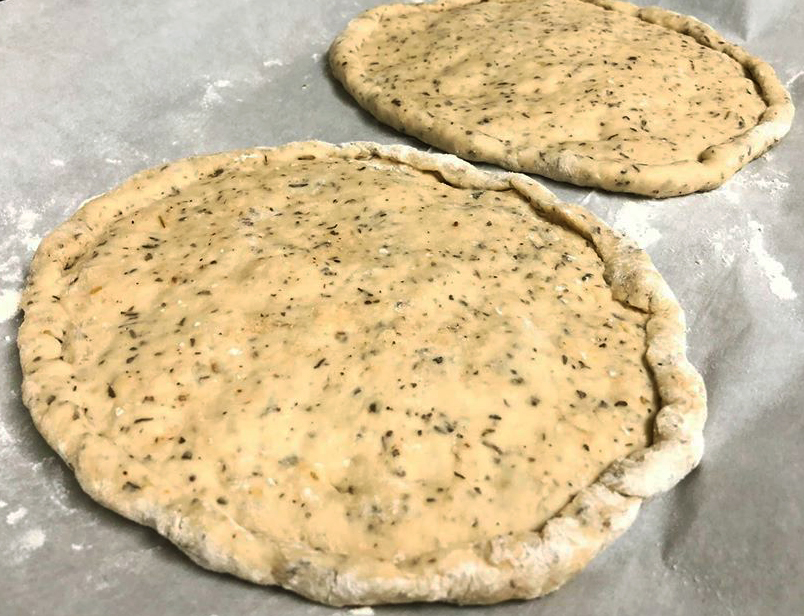 Making your own dough gives you the perfect opportunity to completely customize your dining experience!