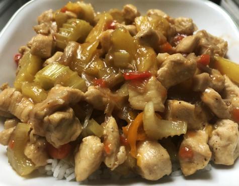 Runner recipes: Sweet pineapple chicken