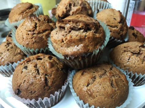 Runner recipes: Loaded peanut butter banana muffins