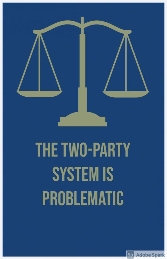 The two-party system negatively affects the US