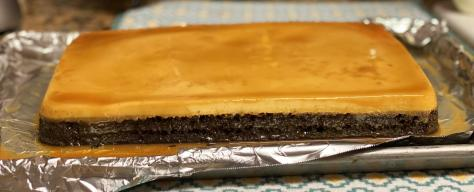 Runner recipes: Creamy chocoflan