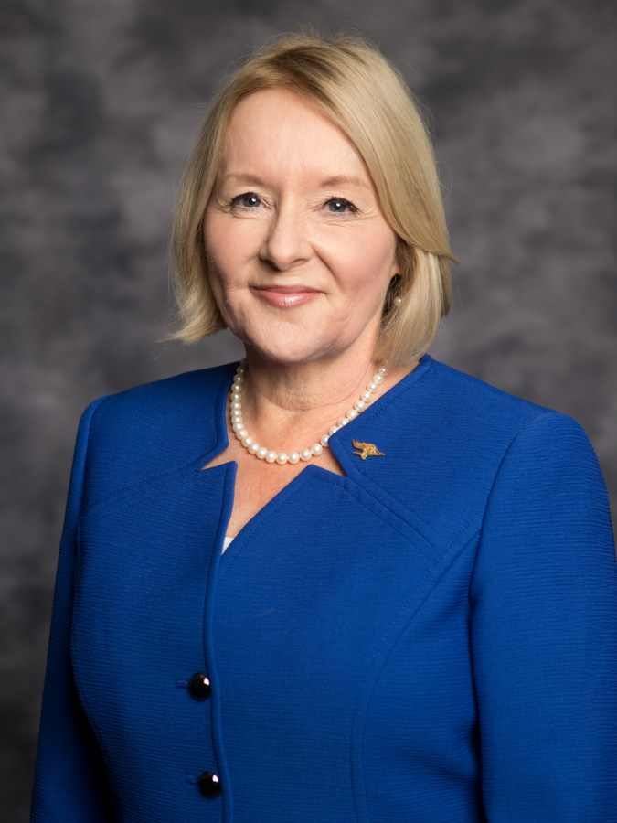 Photo of CSU Bakersfield President Dr. Lynnette Zelezny taken from CSU Chancellor's Office media resources